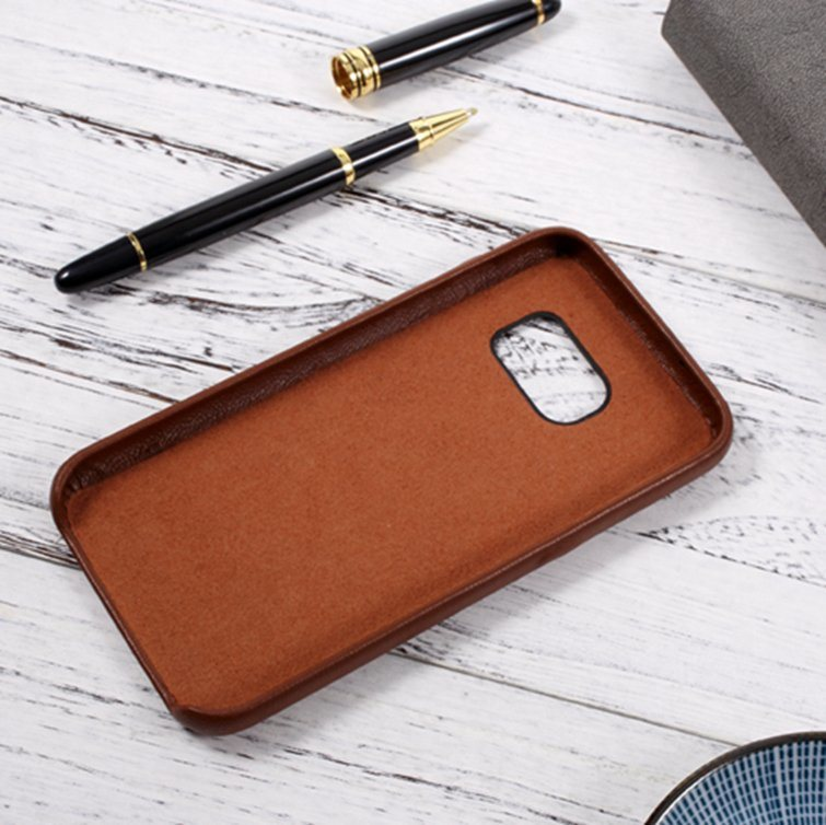 Genuine Leather Cell Phone Case for Samsung Galaxy S7