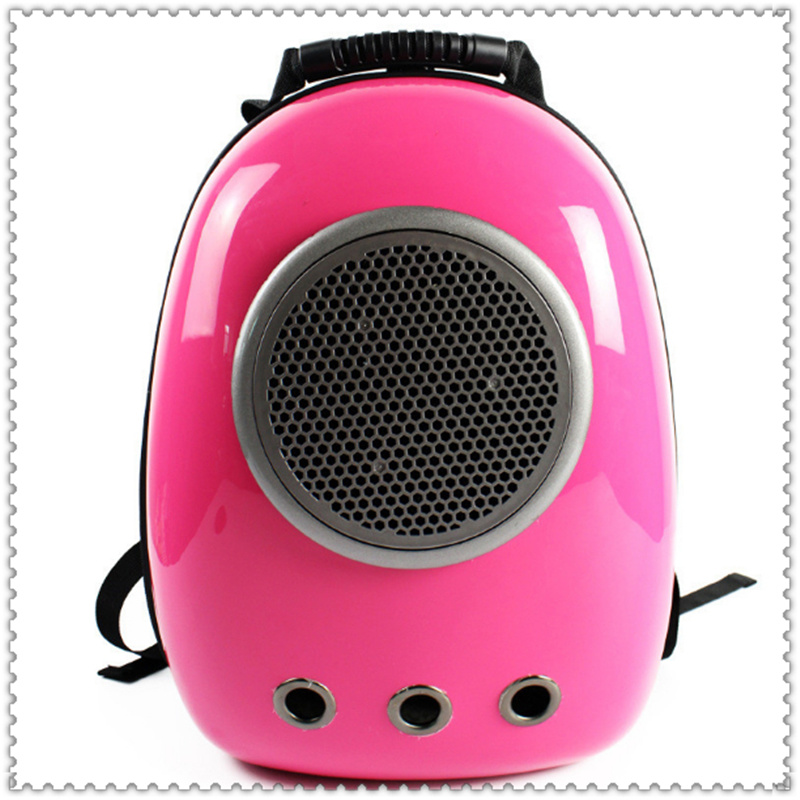 Pet Space Backpack Dog Travel Bag Cat Front Carrier Mesh Pet Double Shouder PC Outside Travel Portable Bag Capsule Shaped