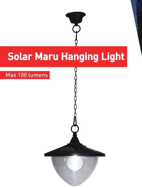 Solar Maru Hanging Light