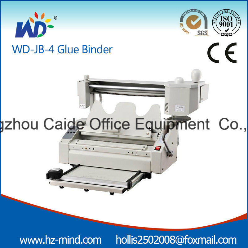 Professional Supplier Glue Binder with Creasing Perforating Cutting Desktop Gluing Hot Glue Binder