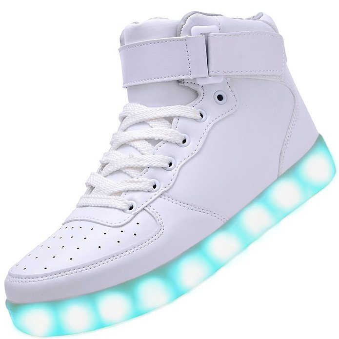2016 New Colorful Sport Adult LED Shoes with 450mAh Battery