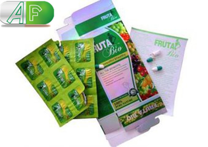 Natural Herb Fruta Bio Slimming Capsuels-100% Prue Natural Weight Loss