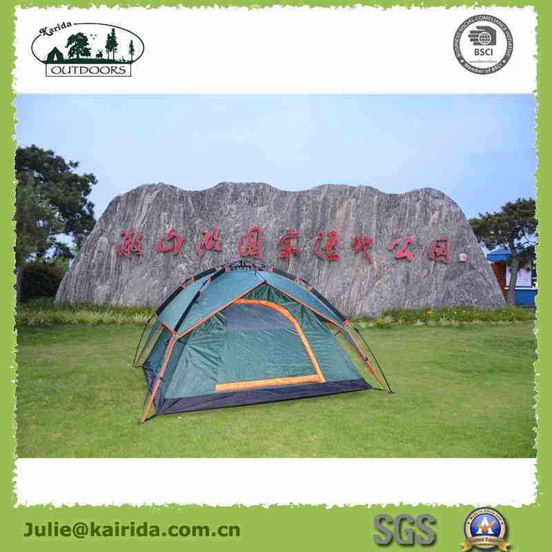 3 Persons Automatic Double Layers Camping Tent