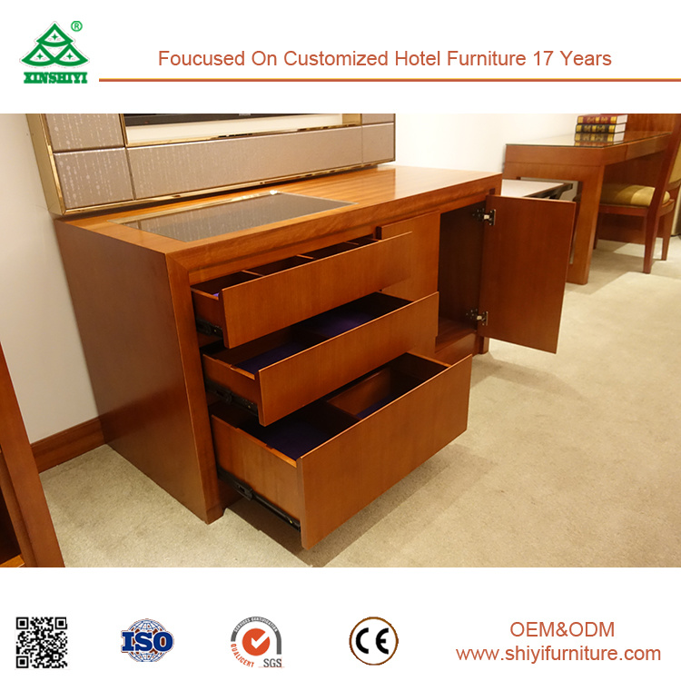 Twin Size Factory Price Beech Wood Bed Room Furniture Bedroom Set