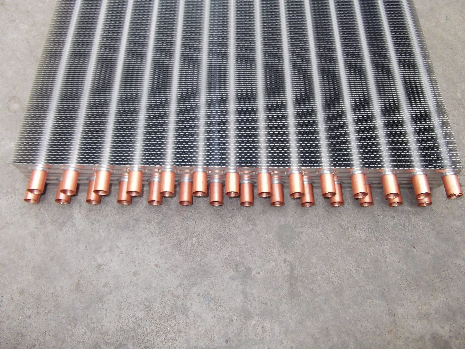 air conditioning tube. Cooling Coil Of Air Conditioning System (coper Tube Aluminum Fin Tube) /Air Heat Exchanger E