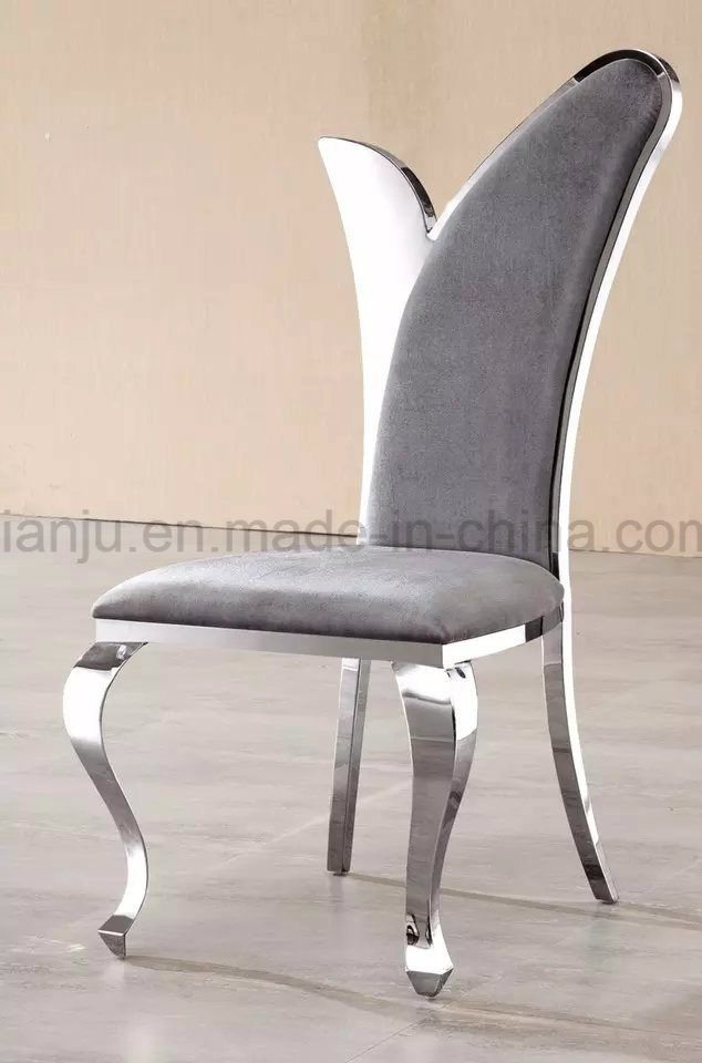 Dining Room Set Furniture Stainless Steel Banquet Dining Chair (B802#)