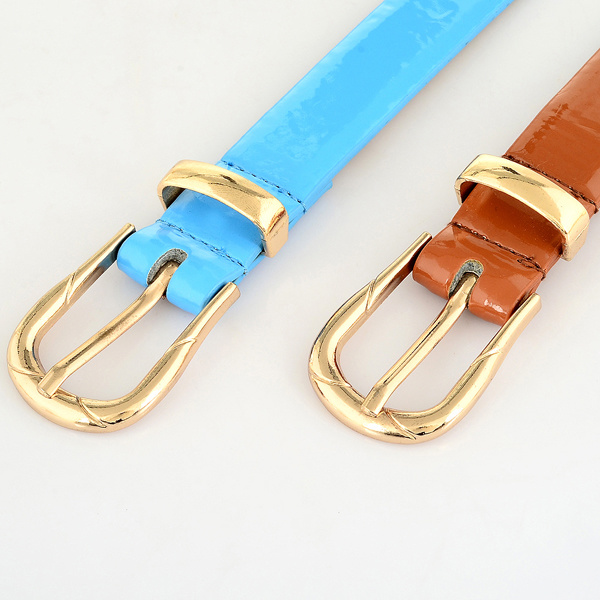 Fashion Women Pants PU Leather Belt (RS-150233)