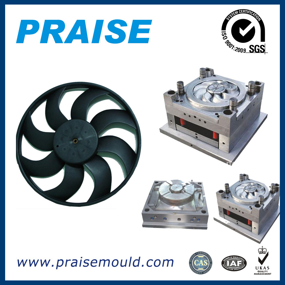High Precision Air Condition Fan Blades Injection Mould