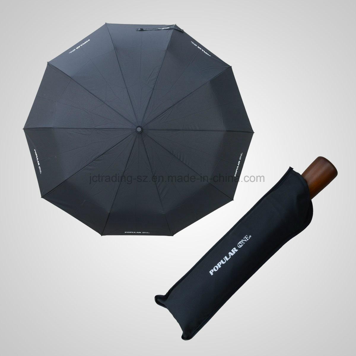 3 Fold Automatic Open&Close Golf Storm Umbrella (JF-AOC302)