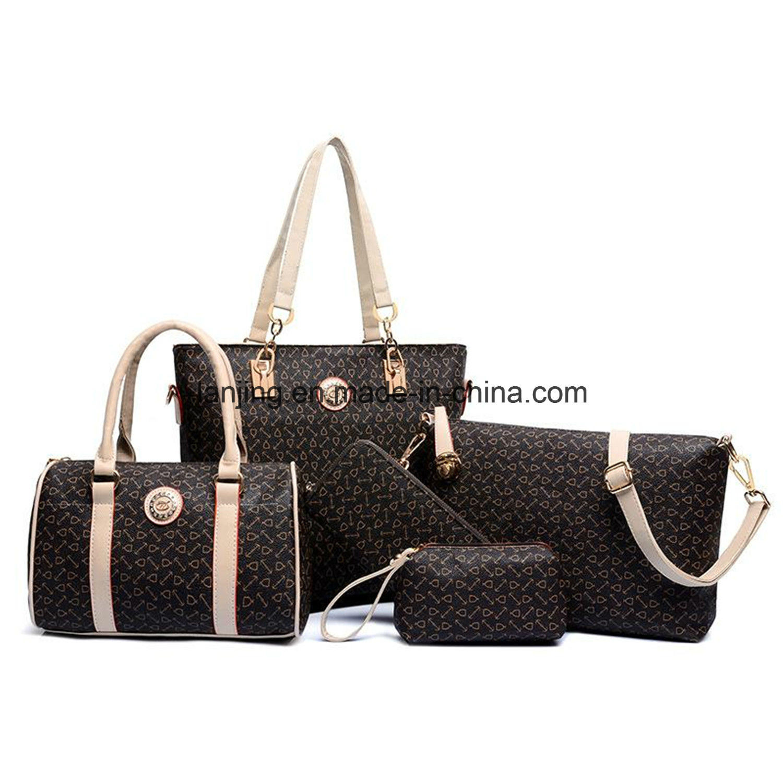 New Fashion Women 6PCS Handbag Shoulder Bags Tote Messenger Bag