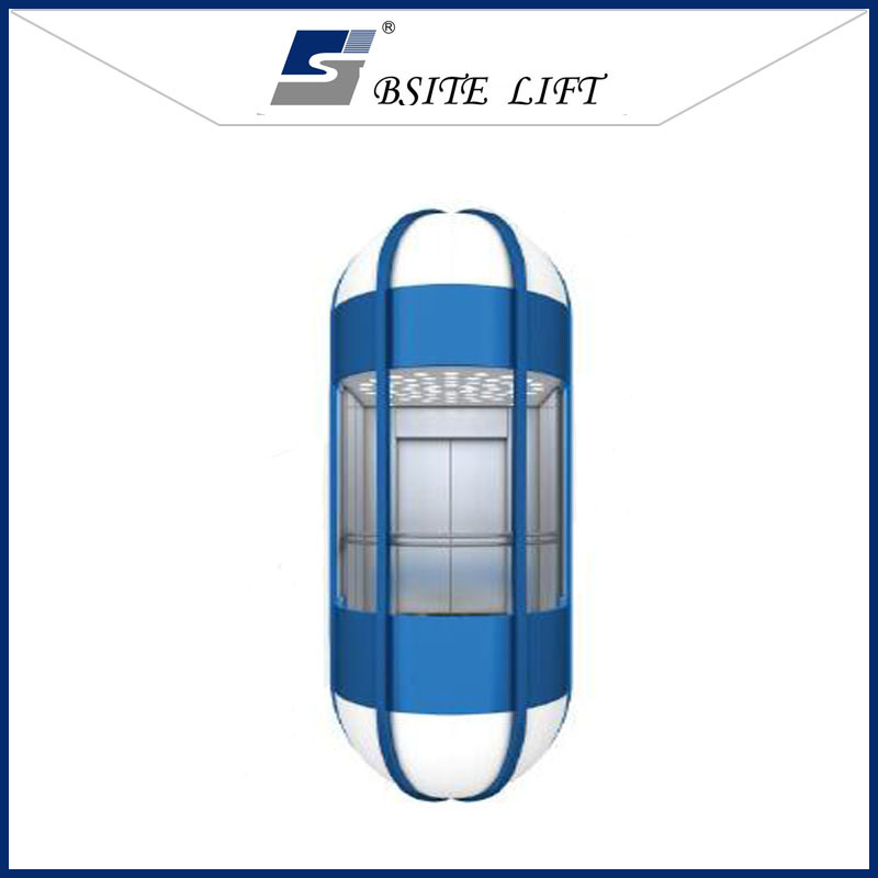 Sightseeing Elevator Observation Lift with Good Quality Decoration