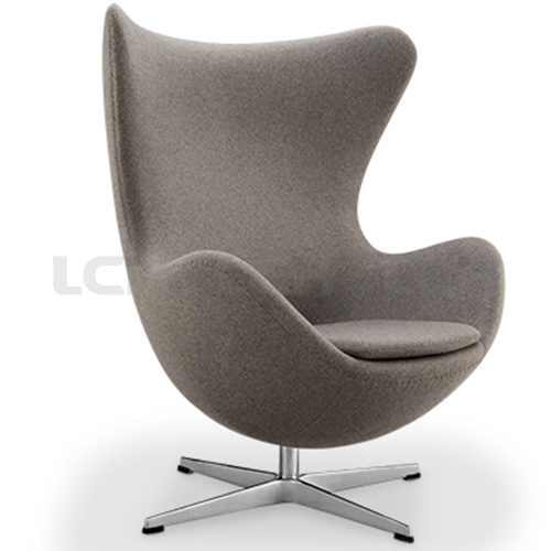Italian Leisure Leather Egg Shape Chair