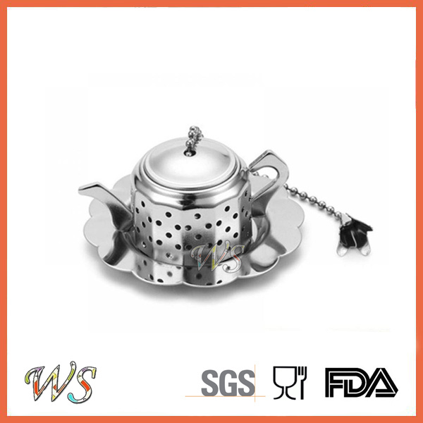 Ws-If024 Tea Infuser Food Grade Stainless Steel Tea Strainer Tea Filter