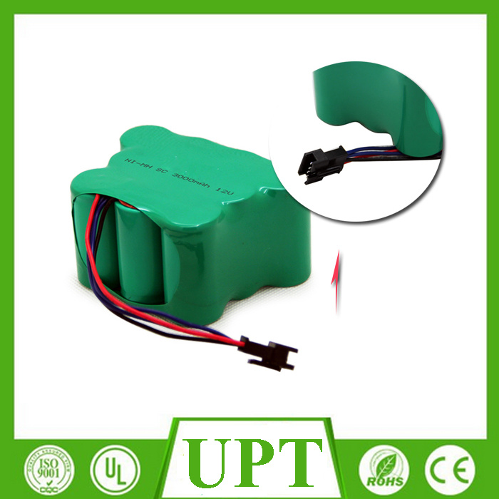 Ni-MH 12V 3000mAh Sc Battery Packs