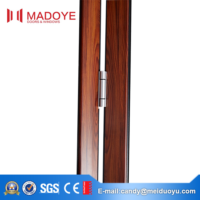 Aluminum Frame Glass Heavy Folding Door with As2047 Certificate