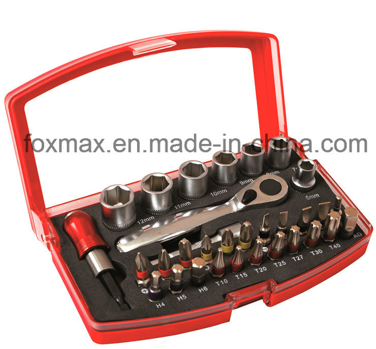 Tool Kit 32PC Screwdriver Bit Set Socket Set (FST-012)