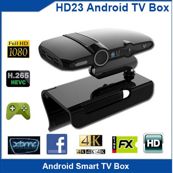 2017 Factory Price HD Smart Android TV Box HD23