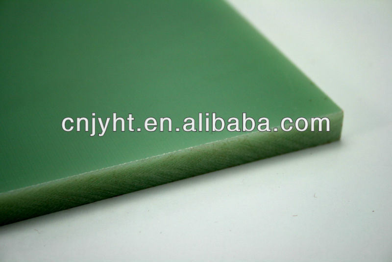 Fiberglass Cloth Material Fr-4/G10 Sheet with Favorable Inflaming Retardancy