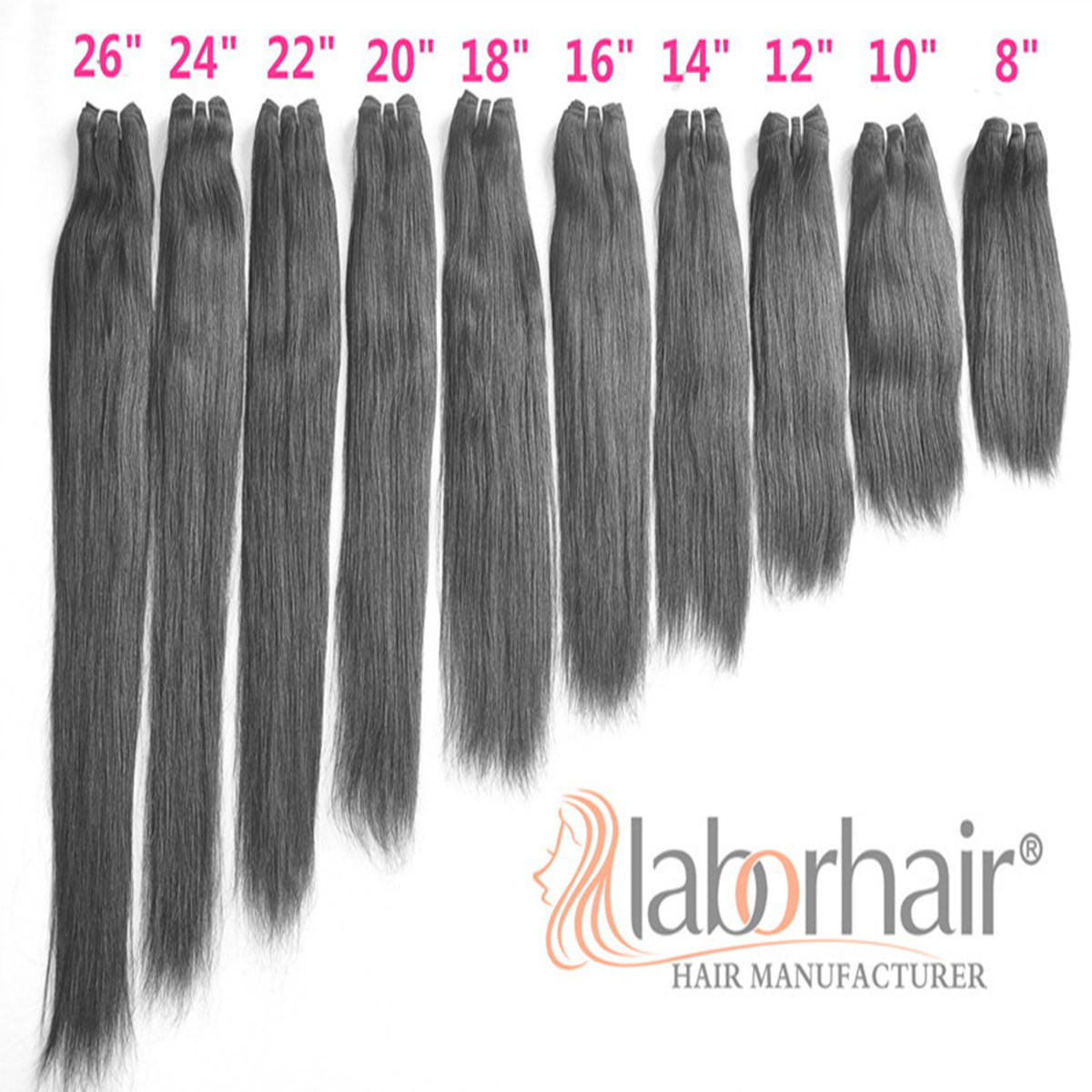 9A Labor Hair Products Brazilian Hair Weave Bundles Straight Virgin Hair 105g, Top Human Hair Extension Bundles
