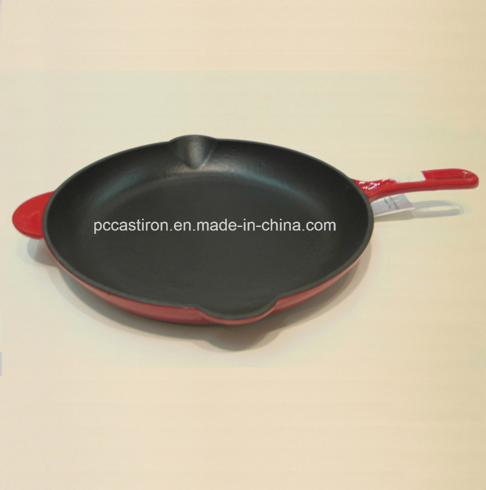 LFGB Approved Cast Iron Skillet OEM Factory China Dia 31cm