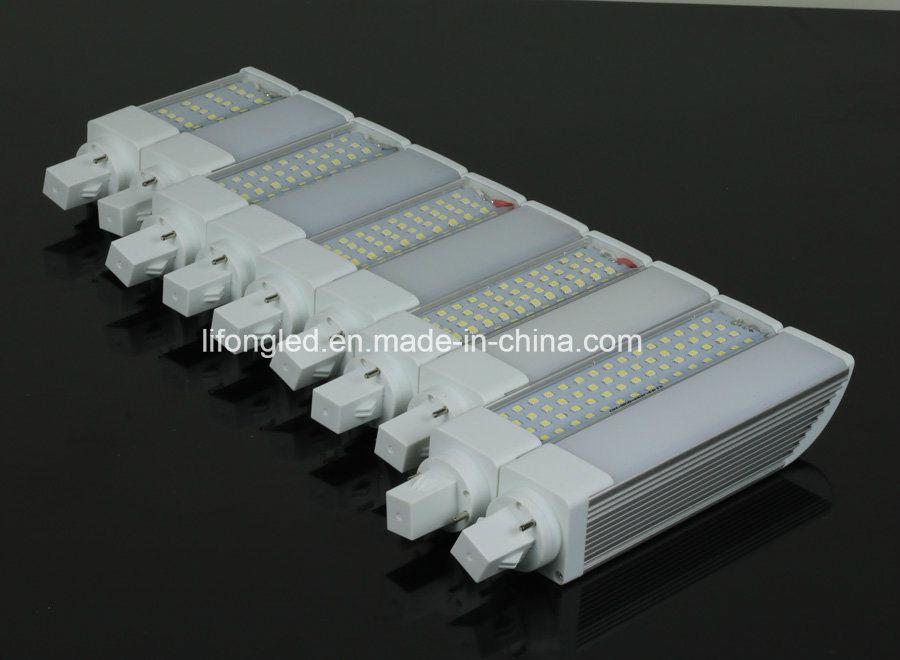 PLC G24 G23 E27 LED Plug Light 12W with High Brightness SMD2835