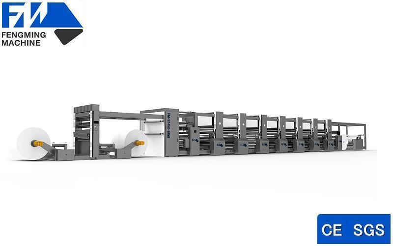 Wide Web Preprint Flexographic Pring Machine