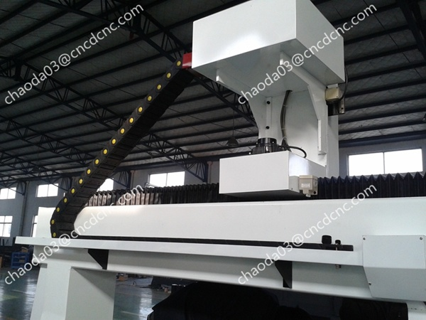 3D Carver CNC Router 4th Axis for Horse Sculpture Carving