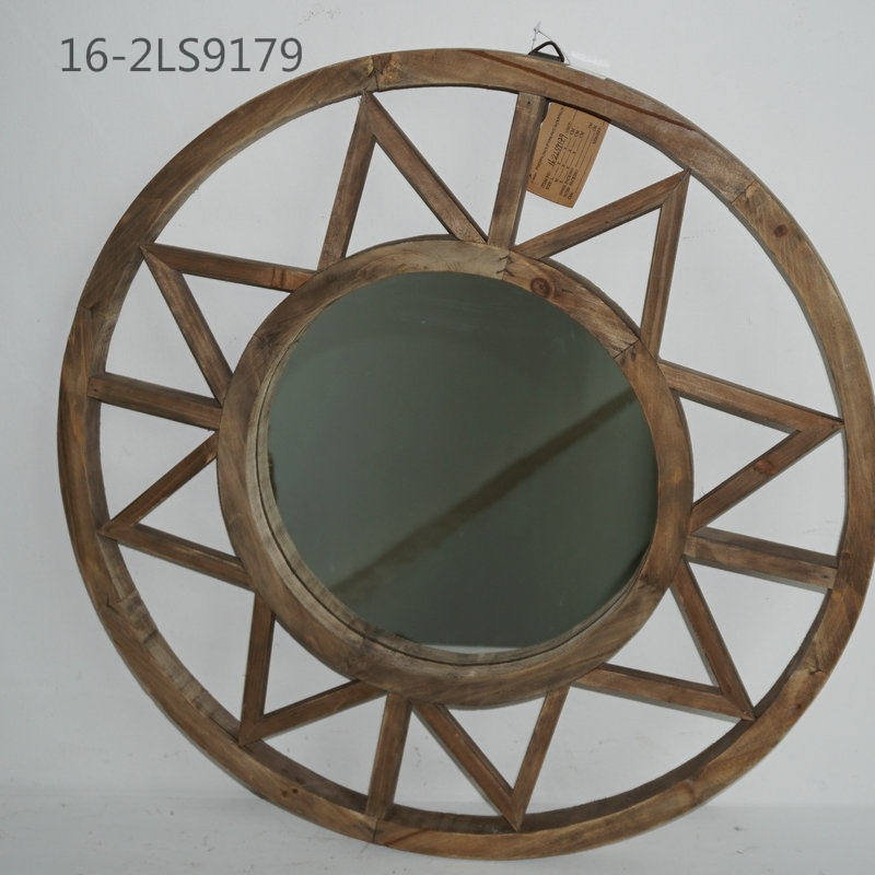 Chinese Traditonal Retro Styles of Wooden or Bamboo Mirrors