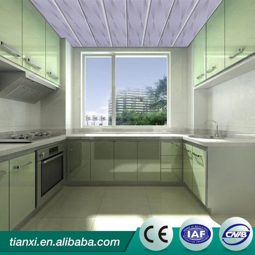 Factory Direct Sale PVC False Ceiling Designs for Your Selection