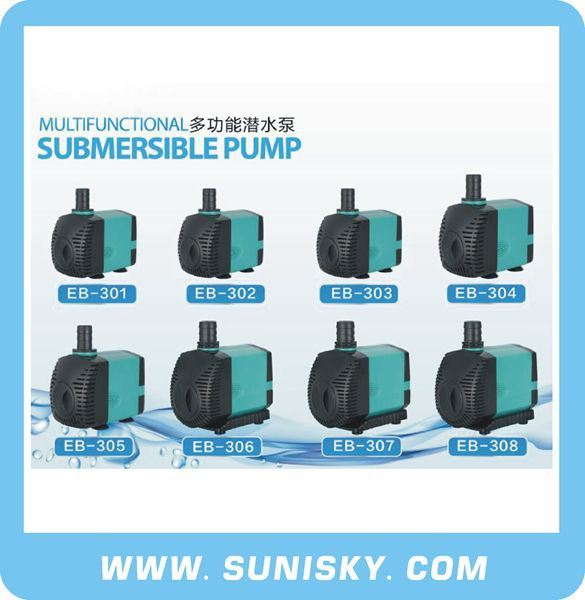 Multifunctional Submersible Pump High Flow Rater Water Pump