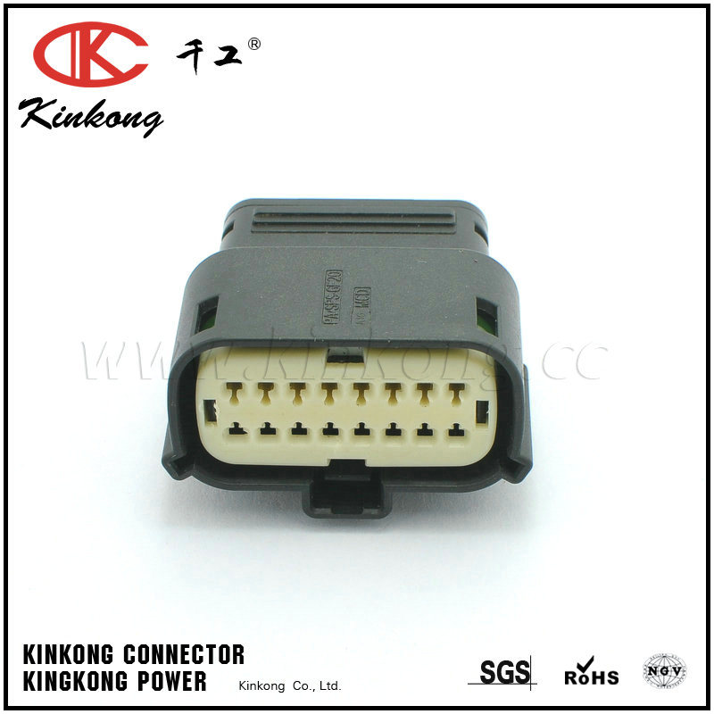 16 Pin Auto Connector with Terminal 33472-1740