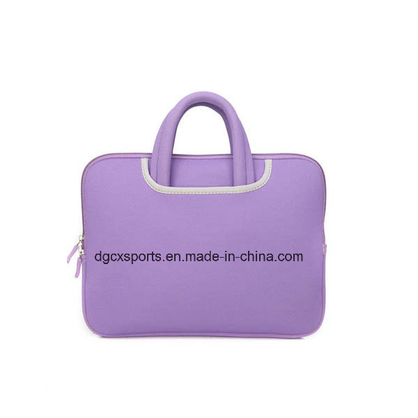 Colourful Neoprene Laptop Sleeve with Handle/Laptop Bag