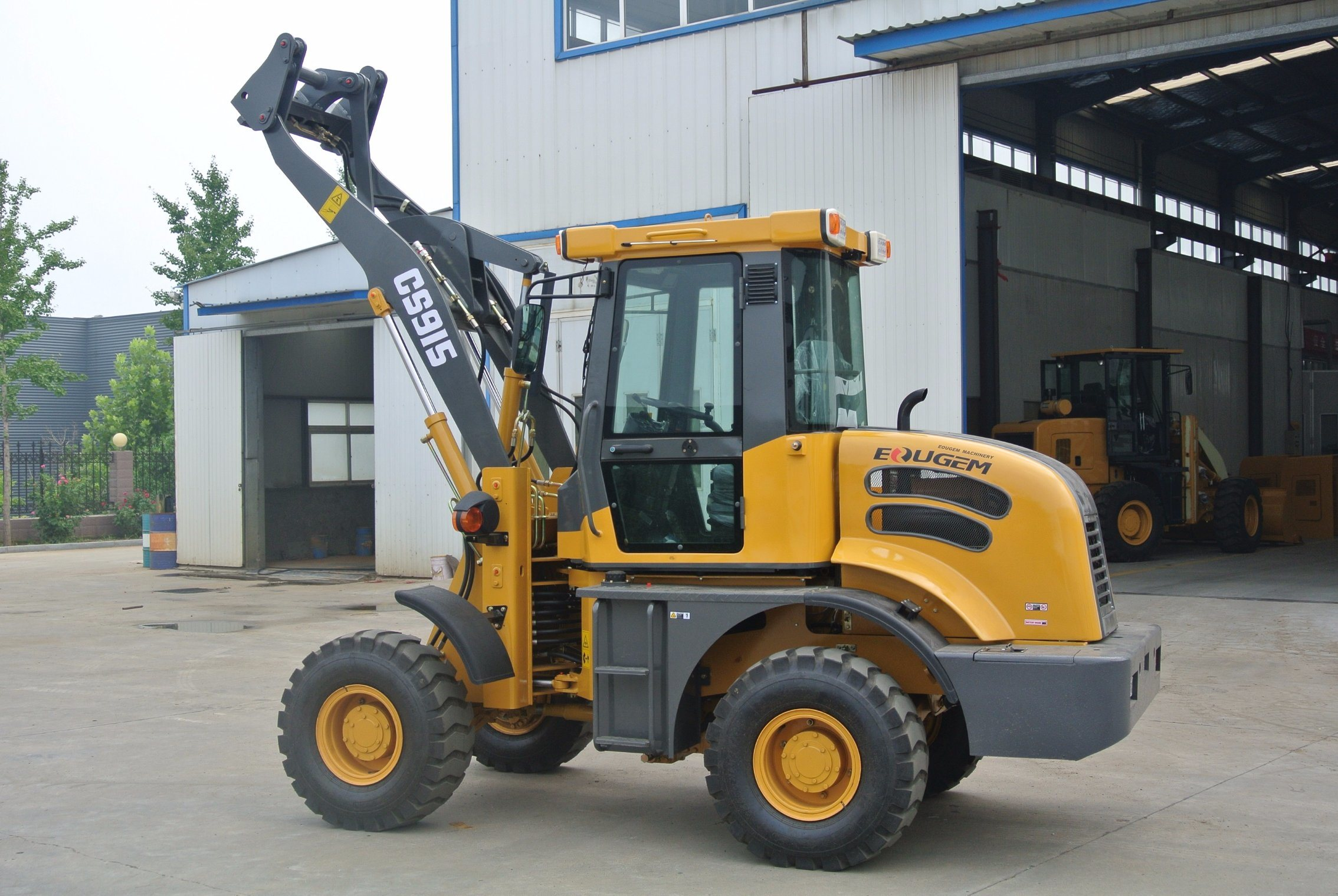 Chinese High Quality Small Wheel Loader for Europe