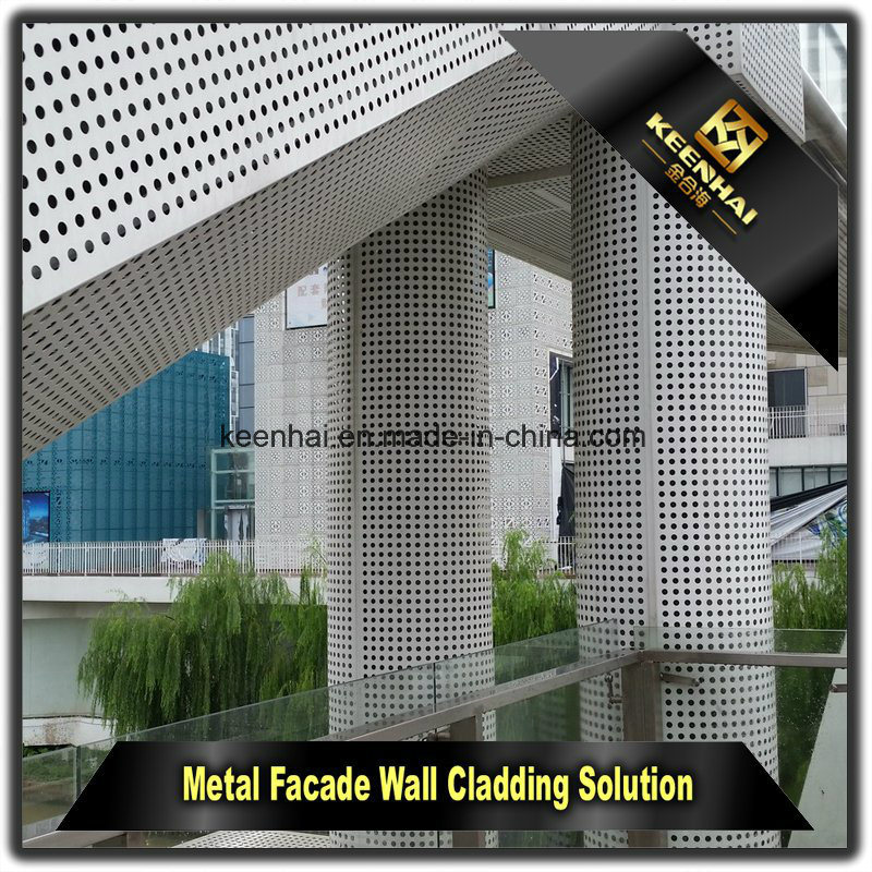 Exterior Metal Aluminum Facade Decorative Wall Cladding