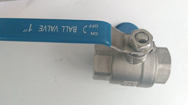 "1/2"" CF8m 2PC 1000 Wog Ball Valves"