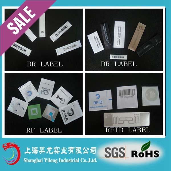 Hot Sale for 58kHz EAS Security System Label with Detacher for Am Label EL14