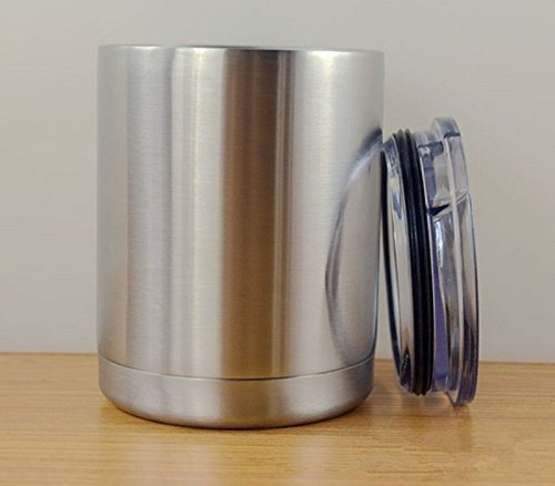 10 Oz Stainless High Strength Steel Double-Wall Vacuum Insulated Lowball Thermos Tumbler Perfect for Hot & Cold