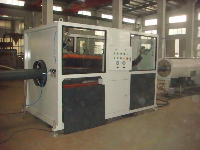 High Speed Single Screw PE/HDPE/PPR/LDPE Pipe Extruder