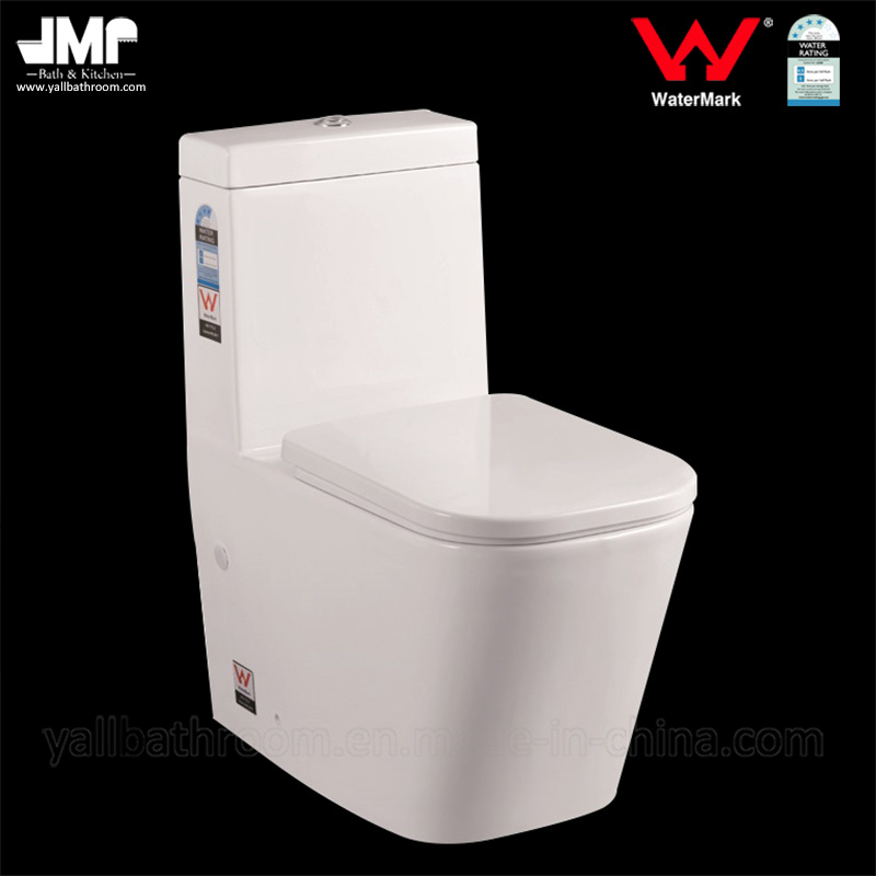 1036 Australian Standard Sanitary Ware Watermark Bathroom One Piece Ceramic Toilet