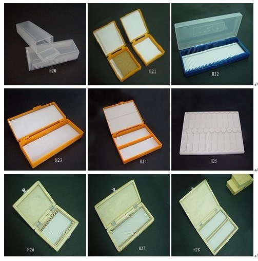 Laboratory Consumable Microscope Box for Slide (H20-H28)