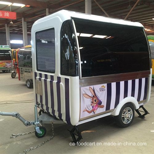 Fiberglass Mobile Food Cart/Trailer