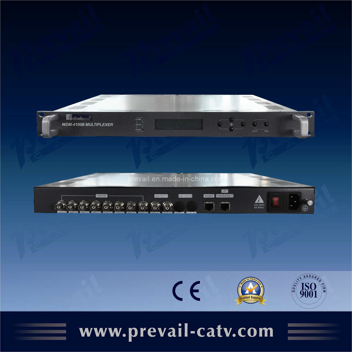 Ts MPEG-2 Re-Multiplexer with IP Output (WDM-4100B\WDM-4140)