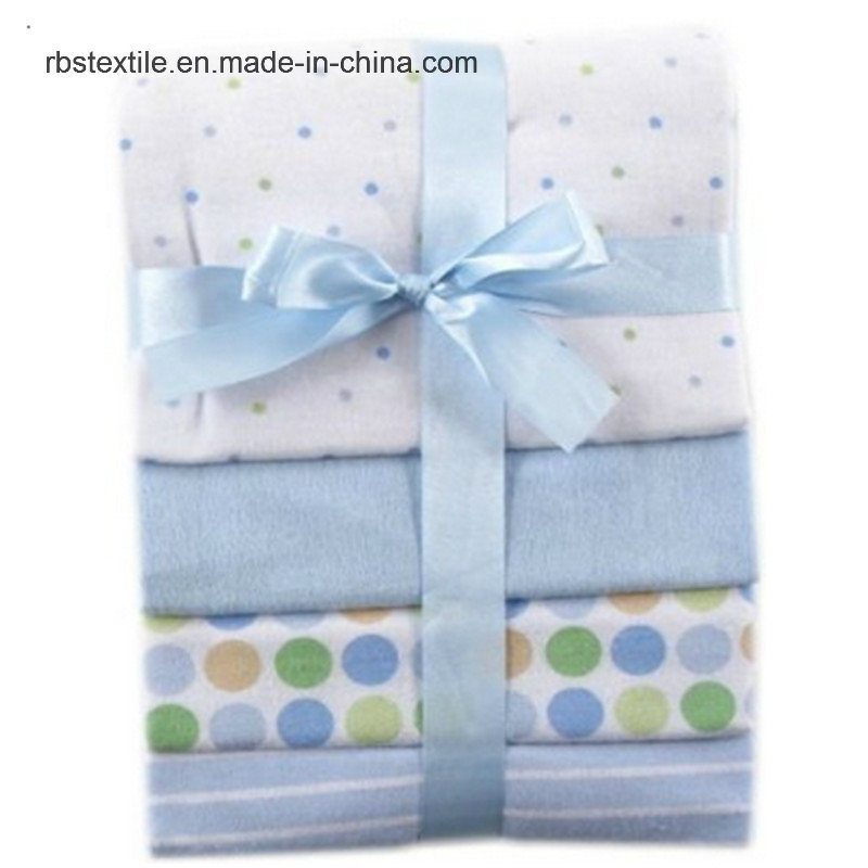 Promotional 100% Fannel Cottonnbaby Receiving Blanket Sleeping Cover
