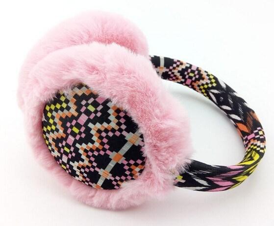 Fashion Colourful Korean Style Fuax Fur Earmuff