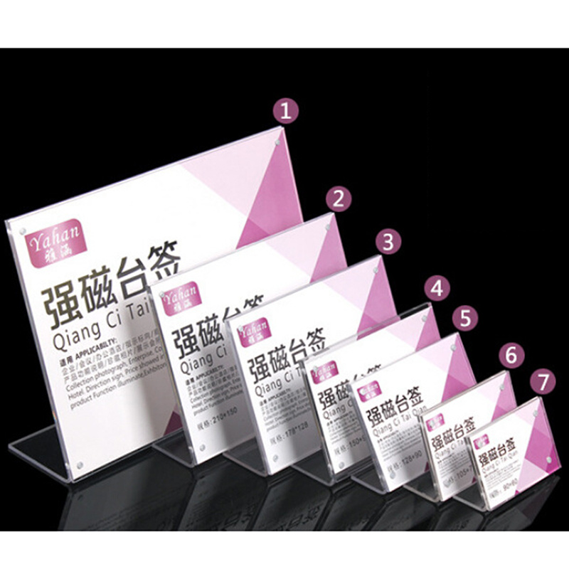 Display Card Professional Custom Service of Acrylic Material