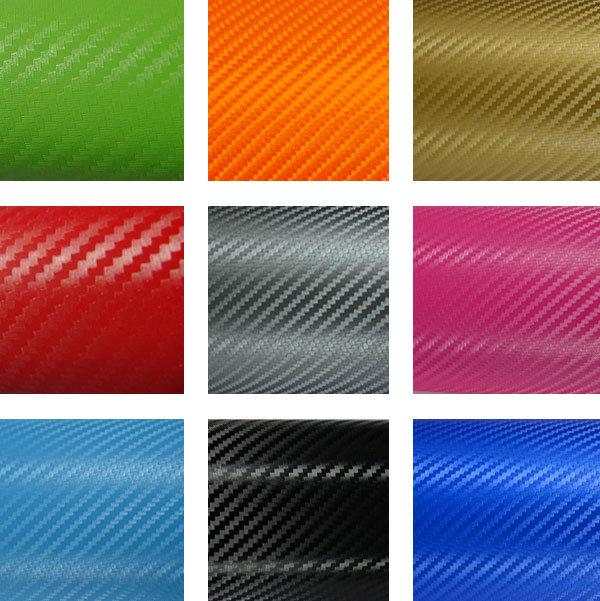 Tsautop 18 Colors 3D Carbon Fiber Vinyl for Car Wrapping