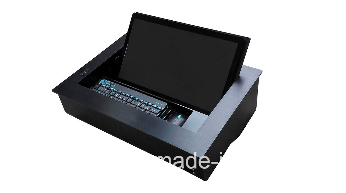 18.5inch Flipping LCD Lift with Monitor