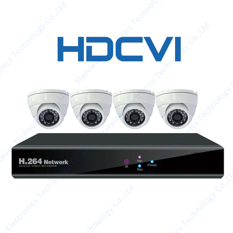 1080P 720p Hdcvi Infrared CCTV Cameras Suppliers Security Camera with 4CH DVR Kit
