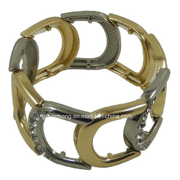 Zinc Alloy Dicasting Assemble Buckle Bracelet