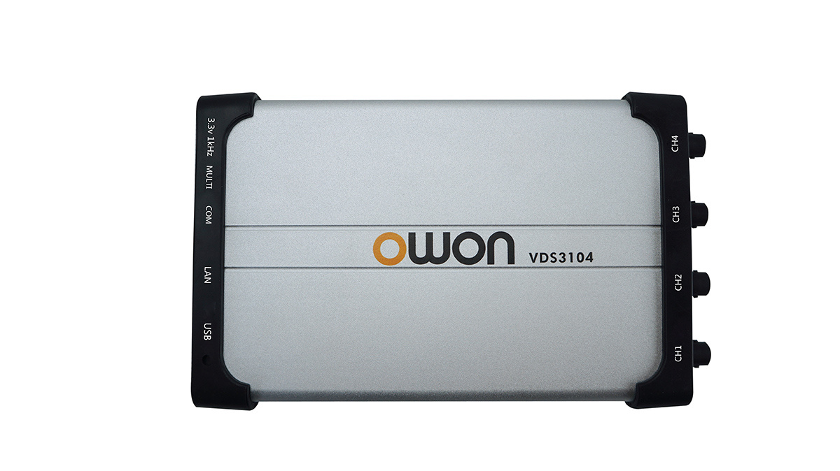 OWON 100MHz 1GS/s Four-Channel PC Oscilloscope (VDS3104)